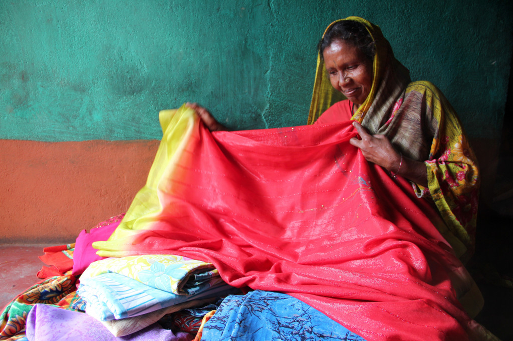 She learned to sew and embroider at 51. A loan from you can help her launch a business.
